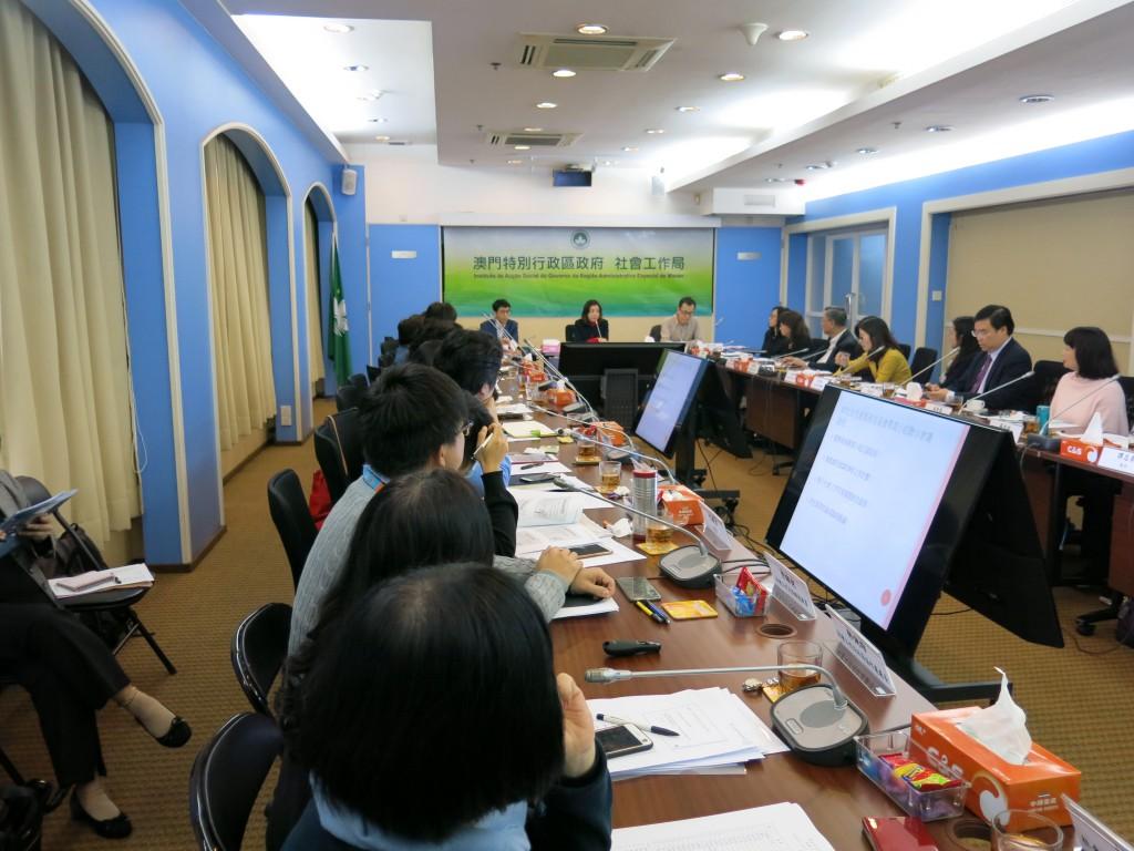 (图:妇儿委专责小组举行联合会议)